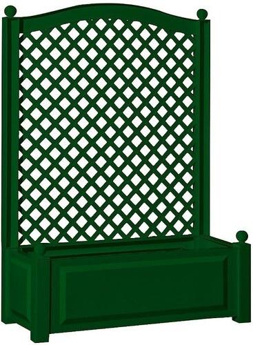 Spalier »mit Pflanzkasten 100cm, grün«