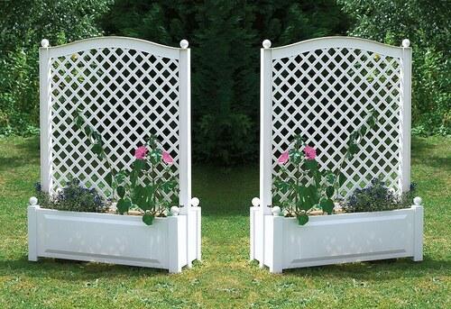 Spalier »beidseitig bepflanzbar 100cm, weiß«