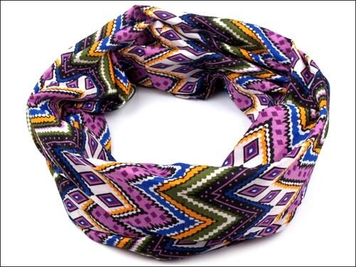 Aztécký fialový nákrčník
