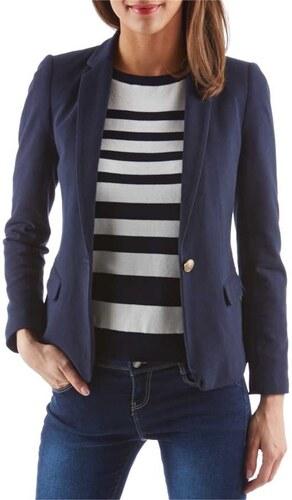 60387900229b7 Camaieu Veste de tailleur femme en piqué de coton - Glami.fr