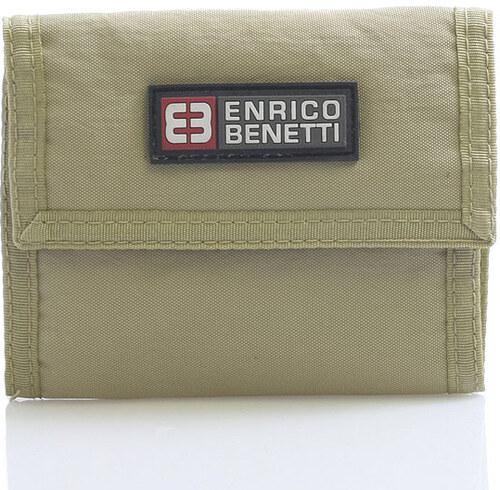 a50b201ca8 Piesková látková peňaženka Enrico Benetti 14607 hnedá - Glami.sk