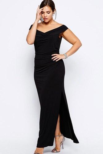 d51f55f9867 Černé dlouhé plesové šaty velikost XXL - Glami.cz