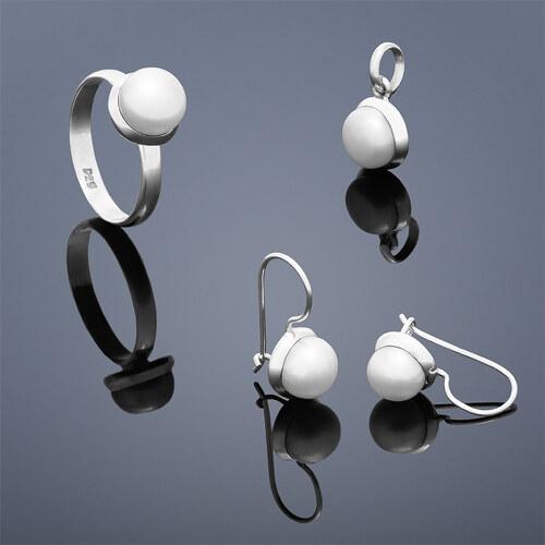 7afb69874af Buka Jewelry Perlová souprava Buka Buka Kecil (náušnice