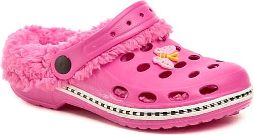 Magnus dětská obuv 44-0608-s1 růžové přezůvky - Glami.cz f35741695e