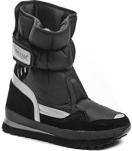 Dámská obuv Asylum AT-231-26-01 černé sněhule - Glami.cz 59347e575a