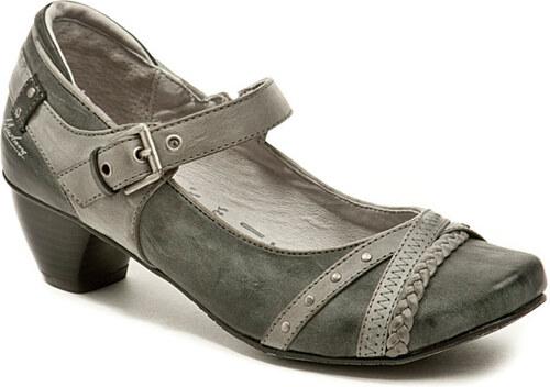 dámská nadměrná obuv Mustang 1055-207-200 šedá - Glami.cz 73313228a3