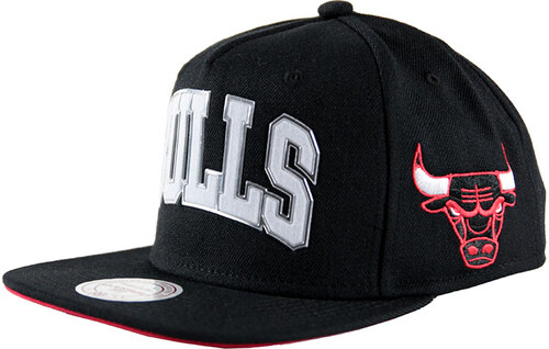MITCHELL & NESS Blacked Out Sonic Bulls OS