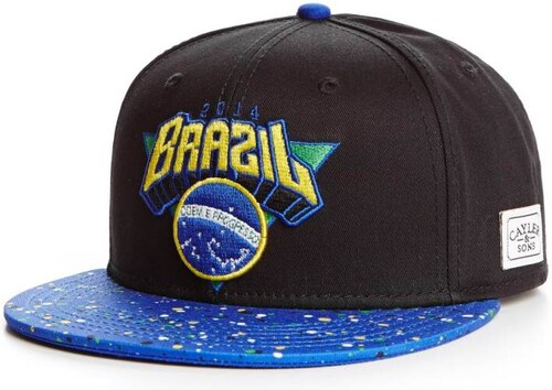 CAYLER & SONS Do Brazil Black/Blue/Yellow OS