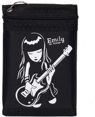 """Peněženka textilní, motiv """"Emily the strange"""" {name}"""