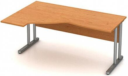 Stůl pracovní rohový ERGO - kovová podnož