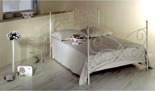 Kovová postel Andalusia