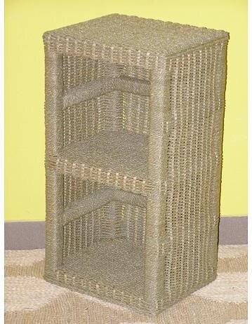 Skříňka 2 úložné prostory-mořská tráva