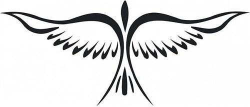Samolepící dekorace Pták 1