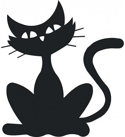 Samolepící dekorace Kočka 1