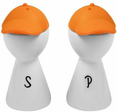 Solnička a pepřenka Písmenko oranžová 9
