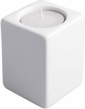 Svícen Quadro bílý 8