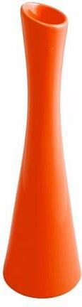 Váza X oranžová 35