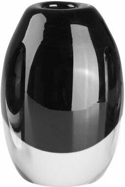Váza Glass černá 8