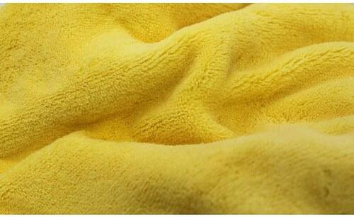 Povlečení z mikrovlákna žluté
