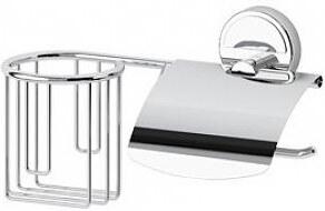 Držák osvěžovače vzduchu a toaletního papíru s krytem