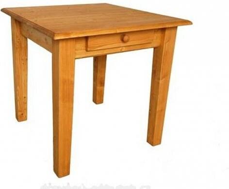 Jídelní stůl se zásuvkou 3