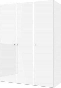 Šatní skříň Keep 81 bílý lesk
