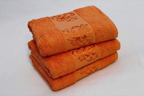Ručník Bambu Shamrock oranžová