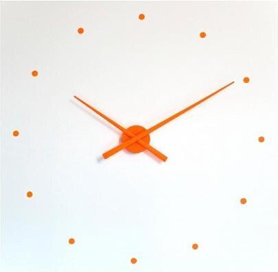 Designové nástěnné hodiny NOMON OJ oranžové 80cm
