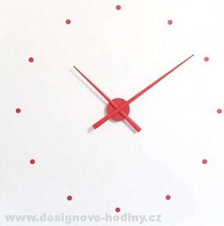 Designové nástěnné hodiny NOMON OJ červené 50cm