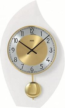 Kyvadlové nástěnné hodiny 7150 AMS 36cm