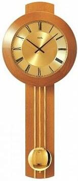 Kyvadlové nástěnné hodiny 5132/9 AMS řízené rádiovým signálem 60cm