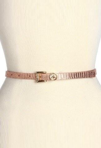 MICHAEL KORS pásek Roller-růžová
