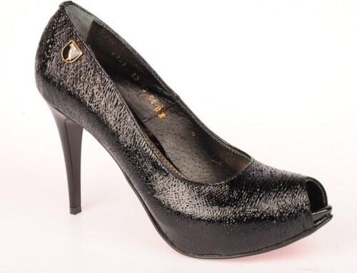 7ce42eb8b5c0 Massimo-POLI. milano Dámská černá společenská obuv WW2953 EUR 40 ...