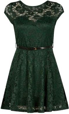 ELISE RYAN Zelené krajkové šaty - Glami.cz 42d7c45d249
