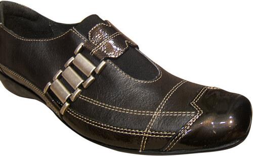 un tour en ville chaussures chaussure marron. Black Bedroom Furniture Sets. Home Design Ideas