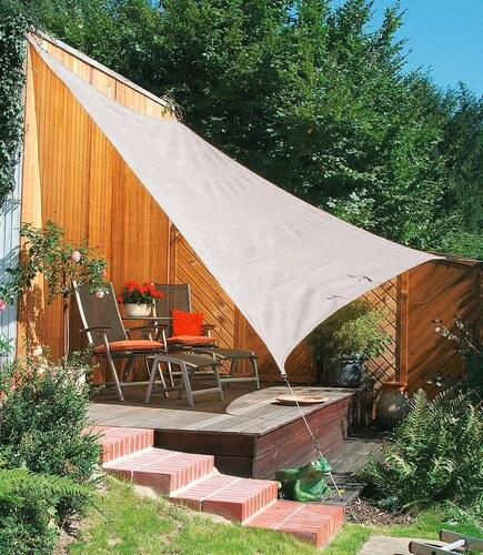 Sonnensegel »Vierecksegel silbergrau in 2 Größen«