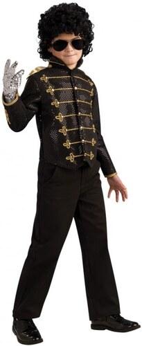 Dětský kostým Black Military Michael Jackson Pro věk (roků) 3-4