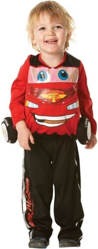Dětský kostým Blesk McQueen Cars 2 Pro věk (roků) 3-4