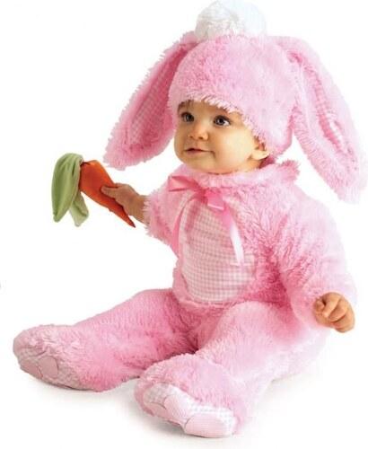 Dětský kostým Králíček růžový Pro věk (měsíců) 0-6