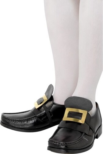 Zlatá přezka na boty