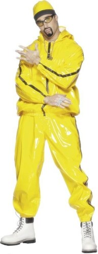 Kostým Rapper PVC Velikost L 52-54