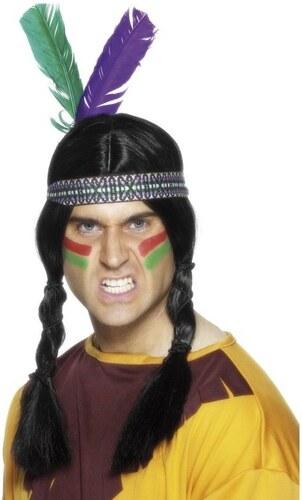 Indiánská čelenka se 2 pery