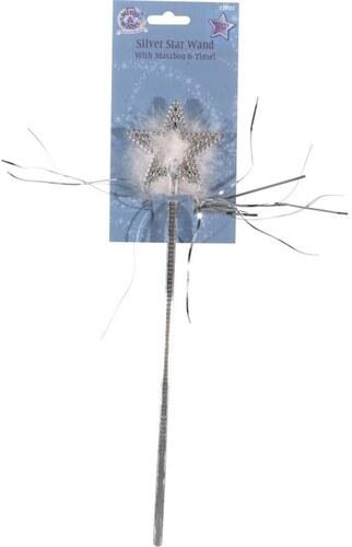Kouzelná hůlka hvězda s chmýřím
