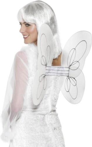 Křídla bílá síťka 50x30 cm