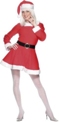 Kostým Miss Santa Velikost M 40-42