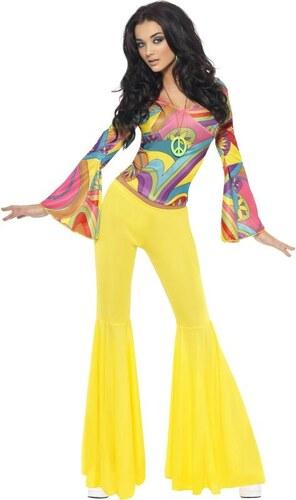 Kostým Hippiesačka Velikost M 40-42