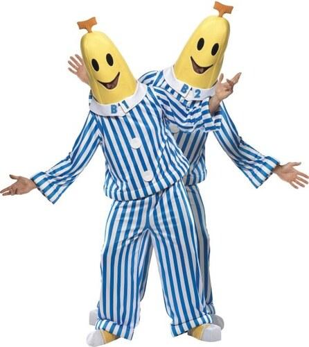 Kostým Banán v pyžamu Velikost M 48-50