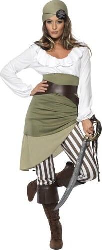 Kostým Pirátka Velikost L 44-46