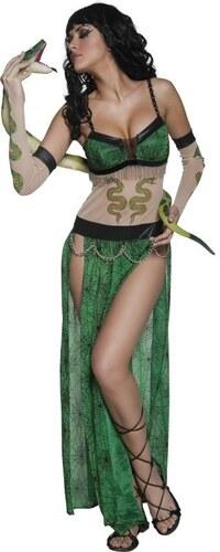 Kostým Hadí žena Velikost M 40-42