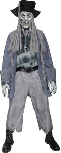 Kostým Zombie pirát Velikost L 52-54